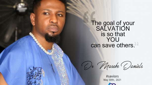 GIVING; ONE WAY TO SALVATION